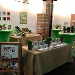 Messestand HelloFresh
